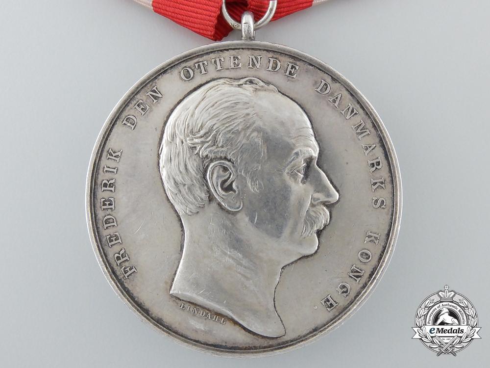 Denmark, Kingdom. A Frederick VIII Lifesaving Medal; Type VIII, c.1908
