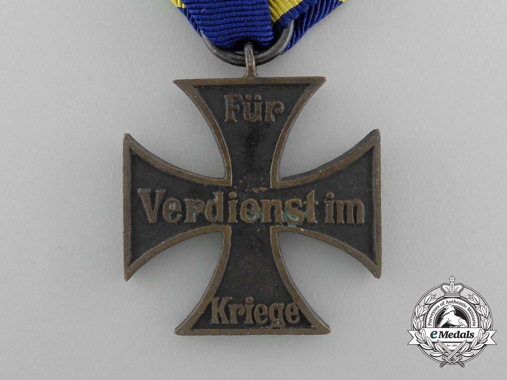 Brunswick. A War Merit Cross, Second Class, c.1915