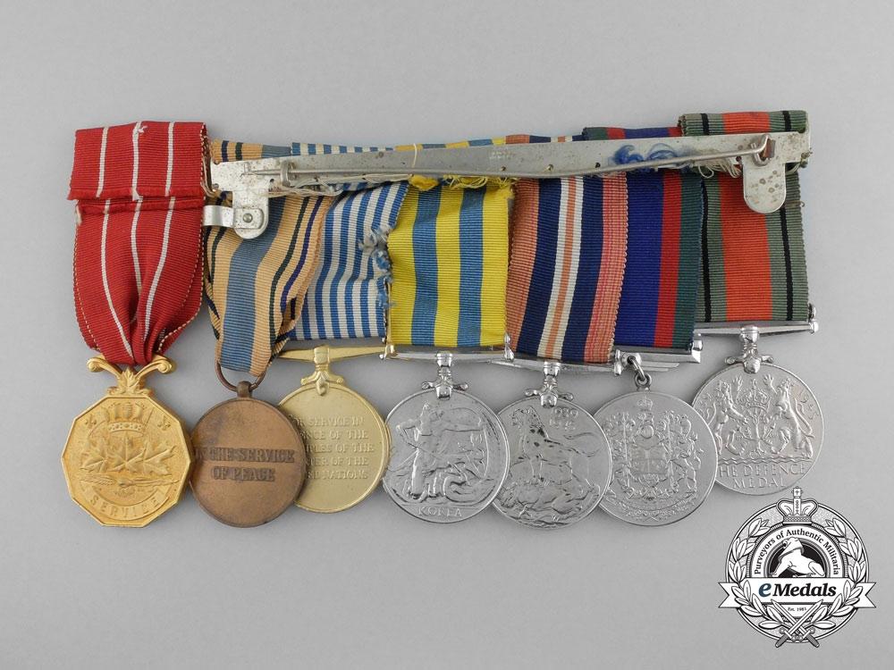 A Canadian Second War & Korea Medal Group