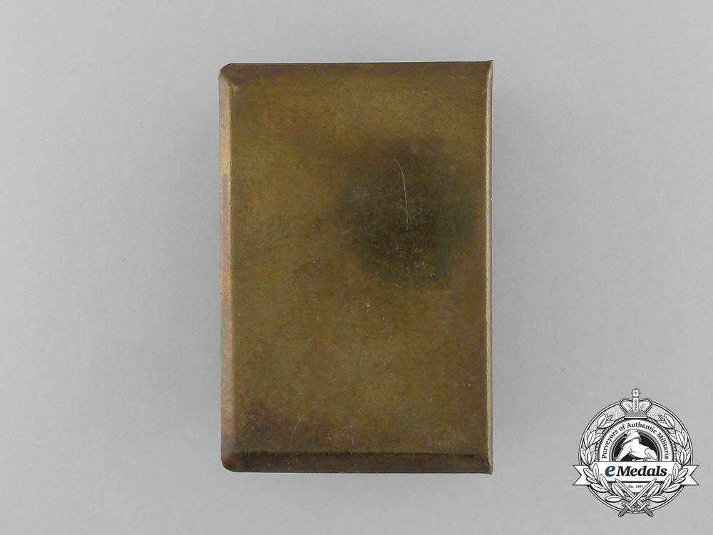 """A First War German """"Gott Mit Uns"""" Chateau-Thierry Matchbox Cover"""