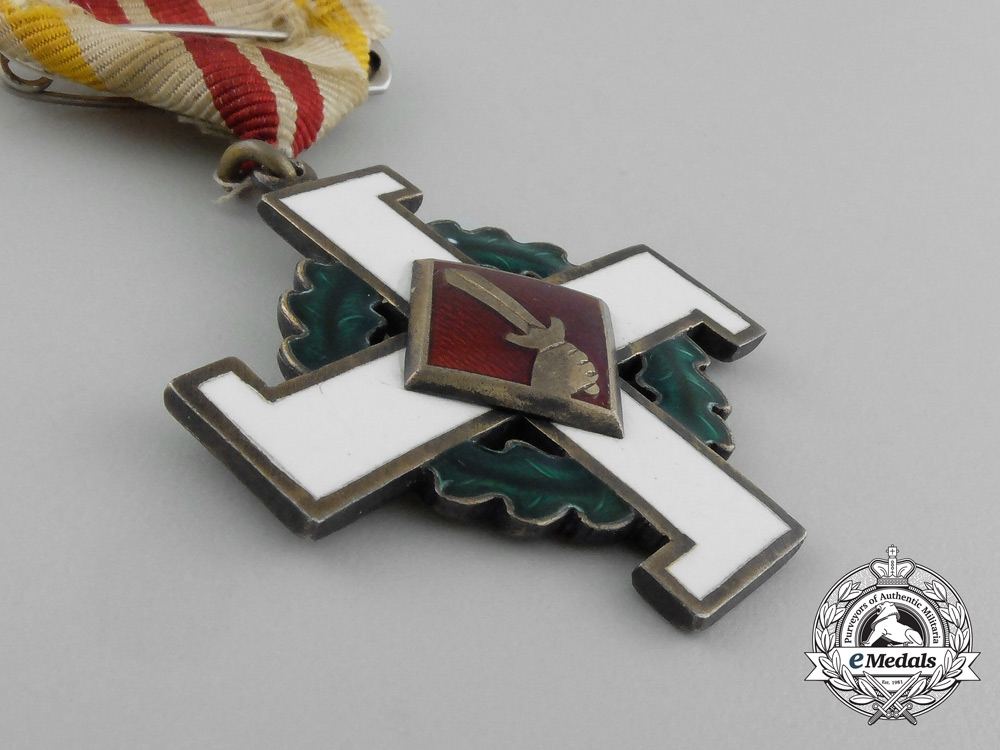 A Latvian Home Guard Cross of Merit