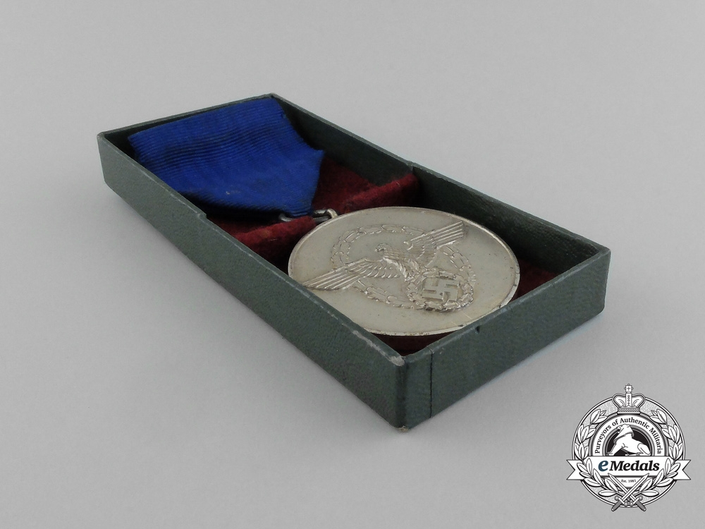 A Third Reich Period German 8-Year Long Service Medal In