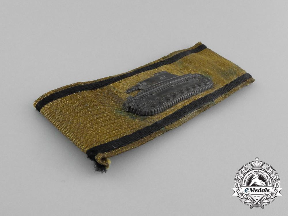 A Special Badge for Single-Handed Tank Destruction; Gold Grade