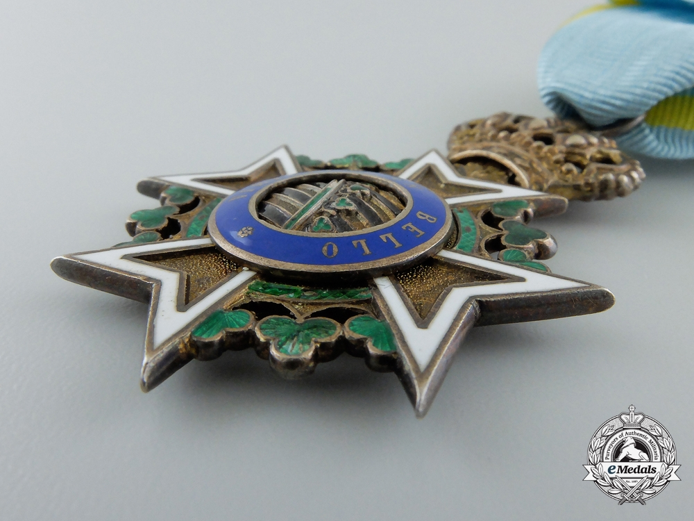 A First War Period Saxon Order of St.Henry;  Knight's Cross