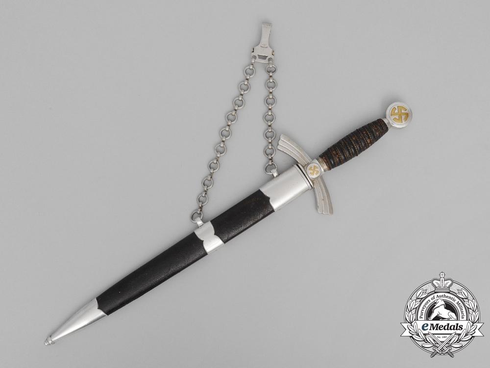 A First Pattern Early Luftwaffe Dagger by Weyersberg Kirschbaum & Cie A.G.