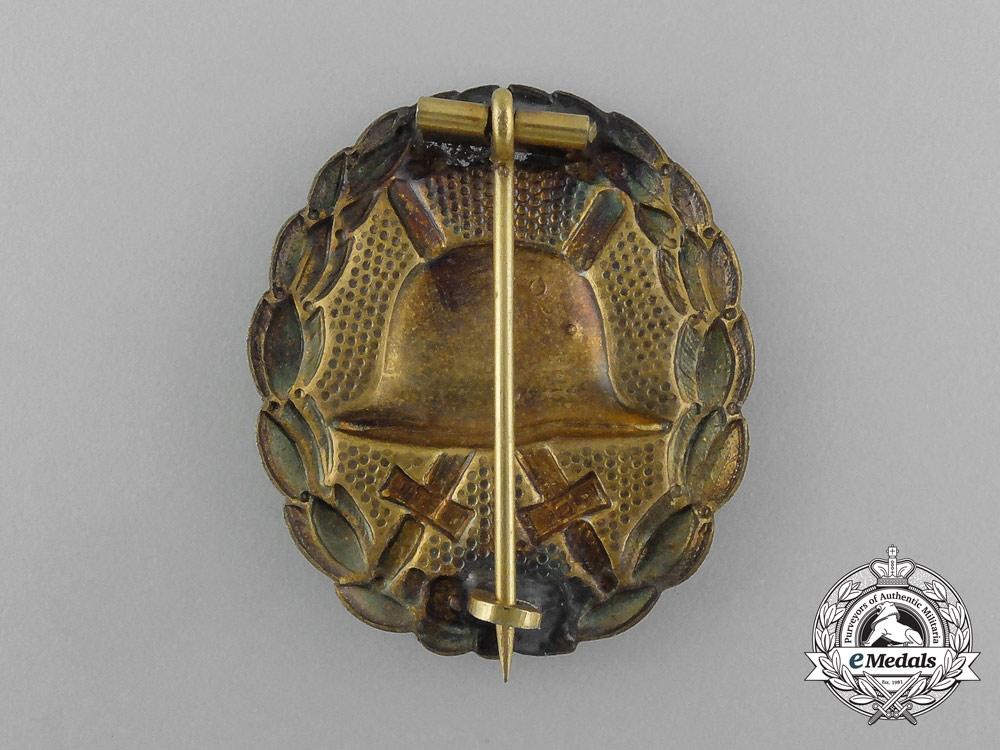 Three First War German Imperial Wound Badges