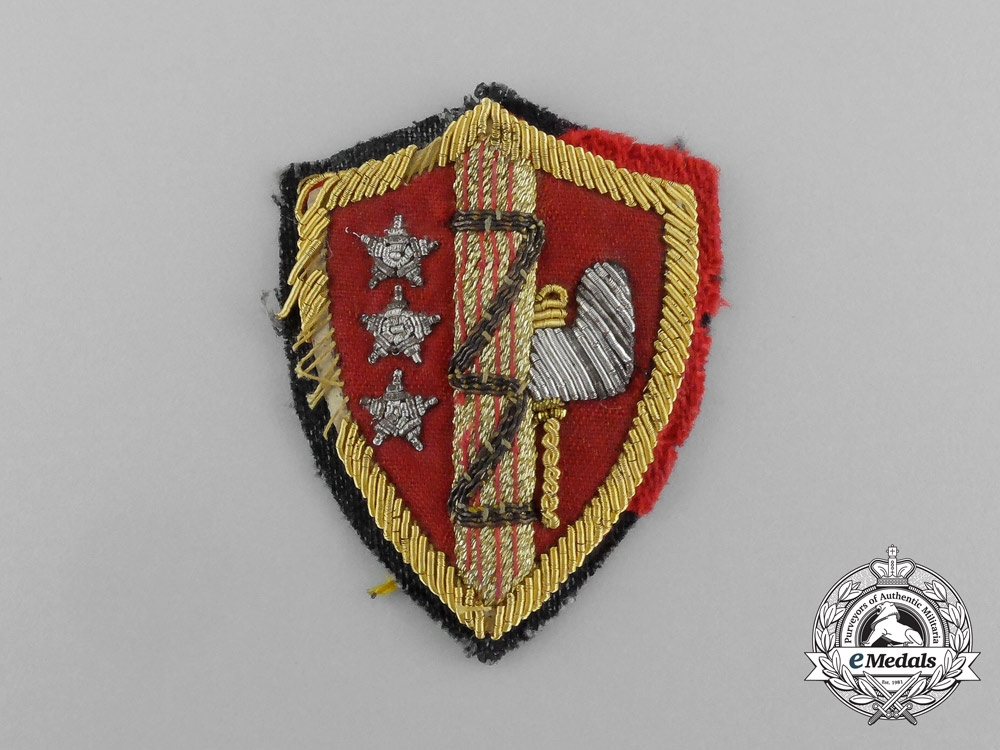Italy, Fascist State. A Fasces Sleeve Patch