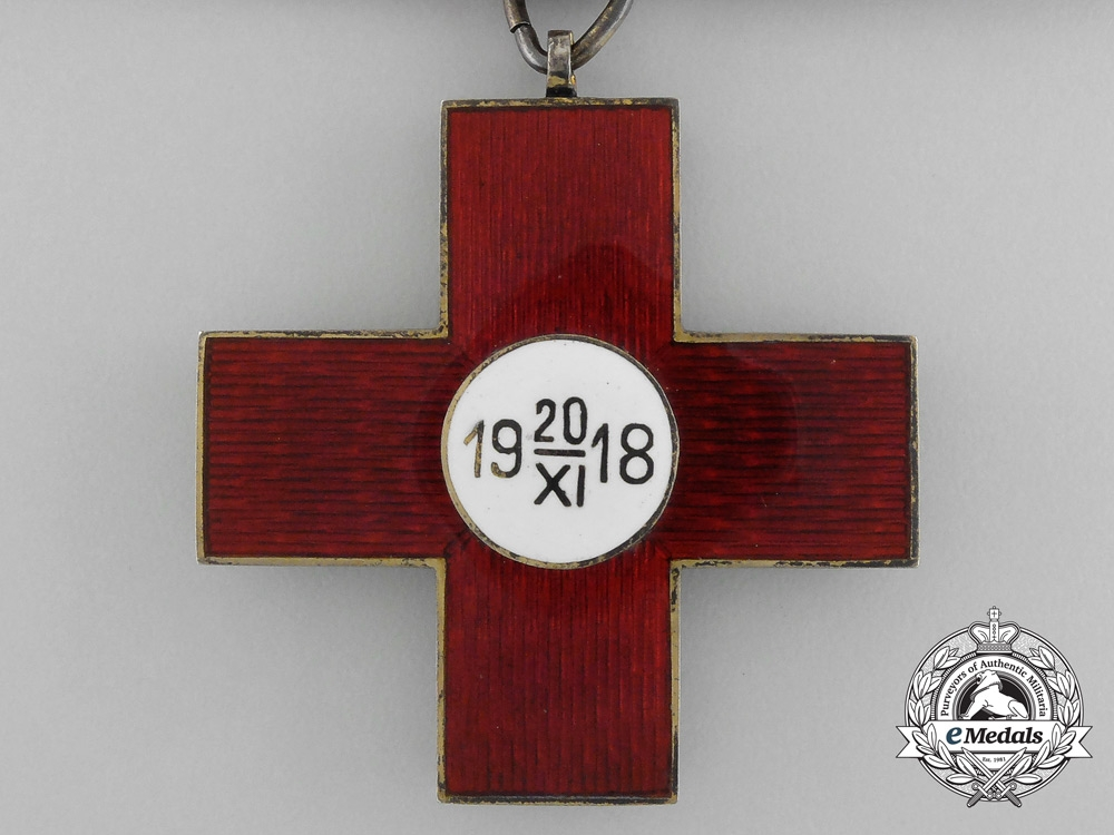 Lativa. An Honour Cross of the Red Cross, I Class, c.1935
