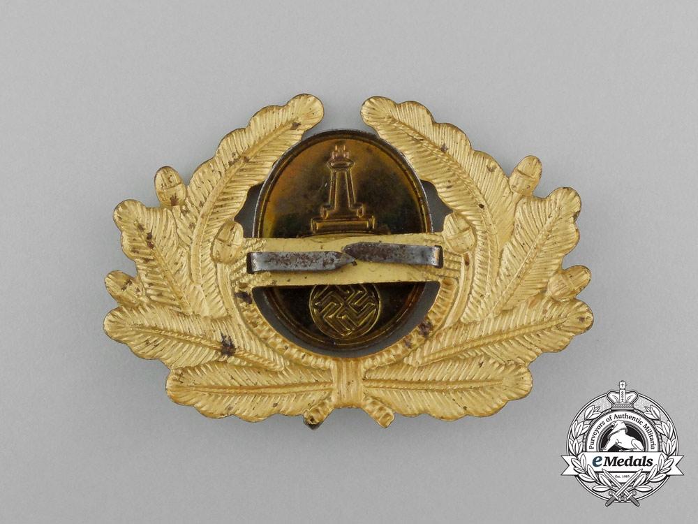 A Kyffhäuser League Visor Cap Insignia