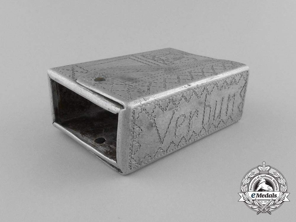 """A German First War """"Verdun"""" Matchbox Cover 1914-1917"""