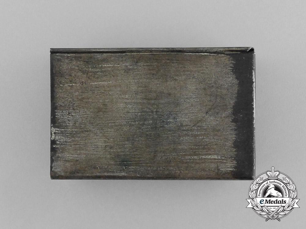 A First War German Homeland Greeting Matchbox Cover