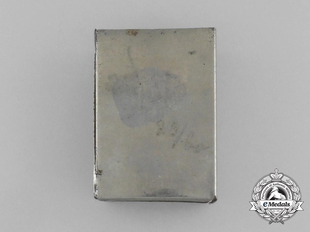 """A First War German """"Wartime Years 1914/15"""" Matchbox Cover"""