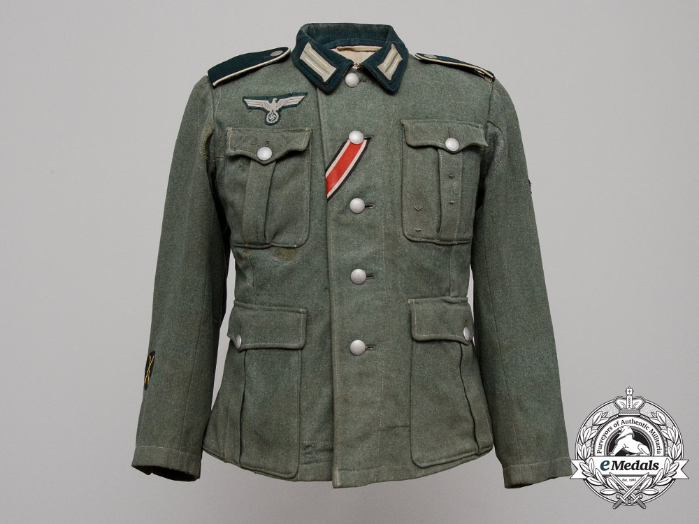 An M36 Infantry Obergefreiter (Senior Lance-Corporal) Enlisted Man's Tunic