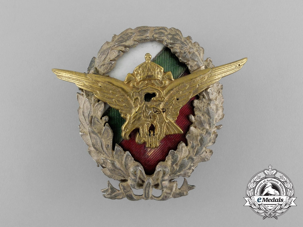 A Bulgarian Air Force Academy Instructors Pilots Badge