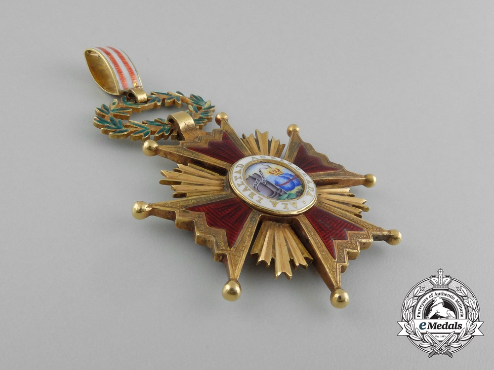 Spain, Kingdom. An Order of Isabella the Catholic in Gold, Commander, c.1940