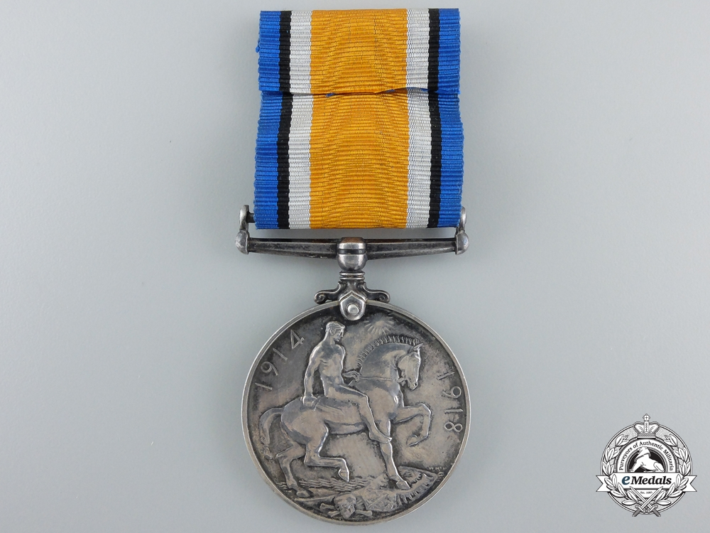 A British War Medal to the Canadian Engineers