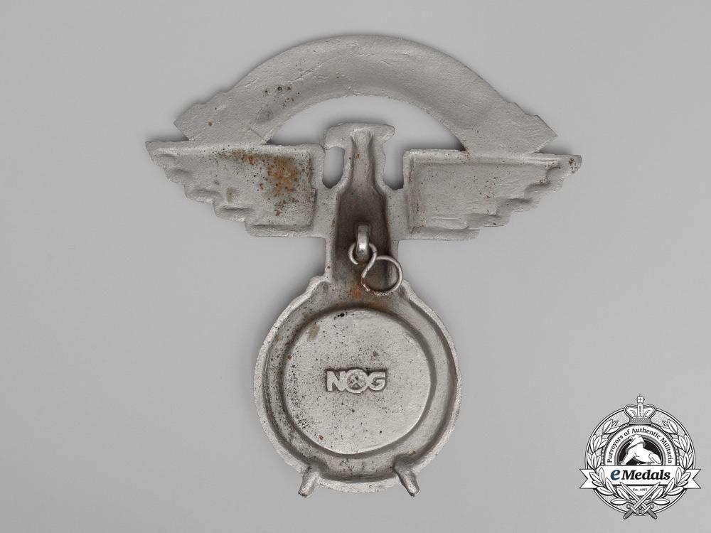 A Large NSKK (National Socialist Motor Corps) Wall Ornament