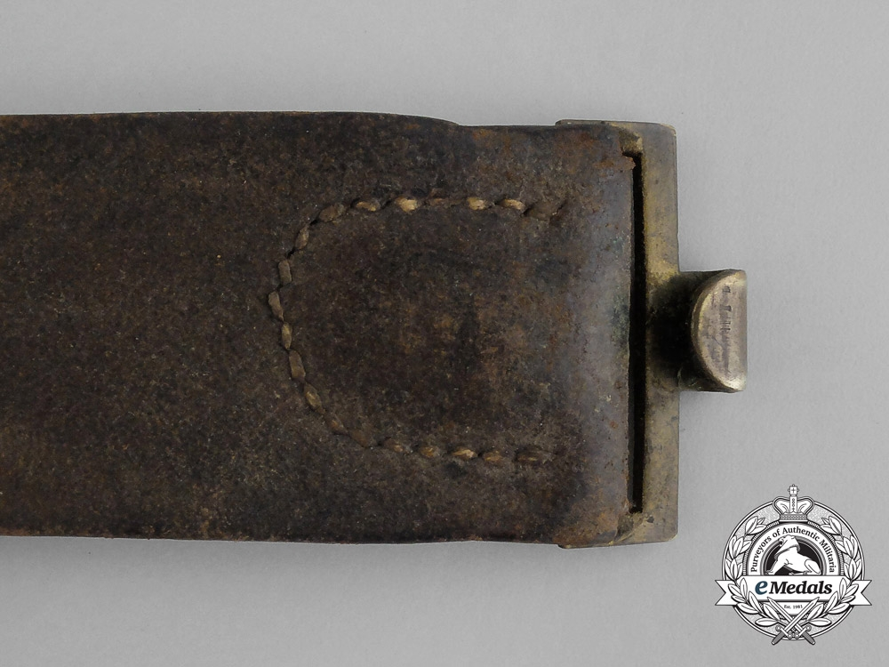 A Franco-Prussian War Saxon Enlisted Man's Belt with Buckle and M1871 Bayonet