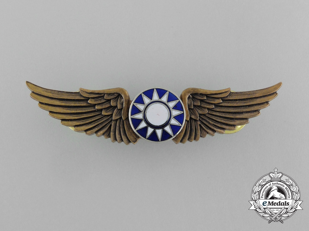 A Republic of China Air Force Basic Pilot Badge