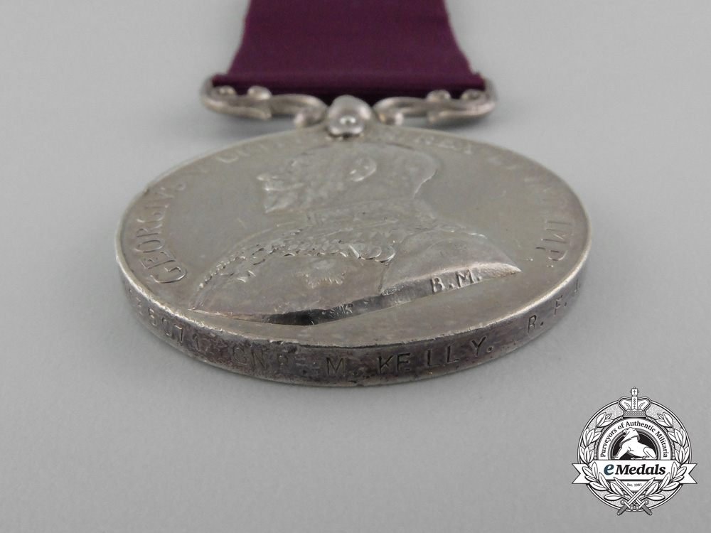 An Army Long Service and Good Conduct Medal; Royal Field Artillery