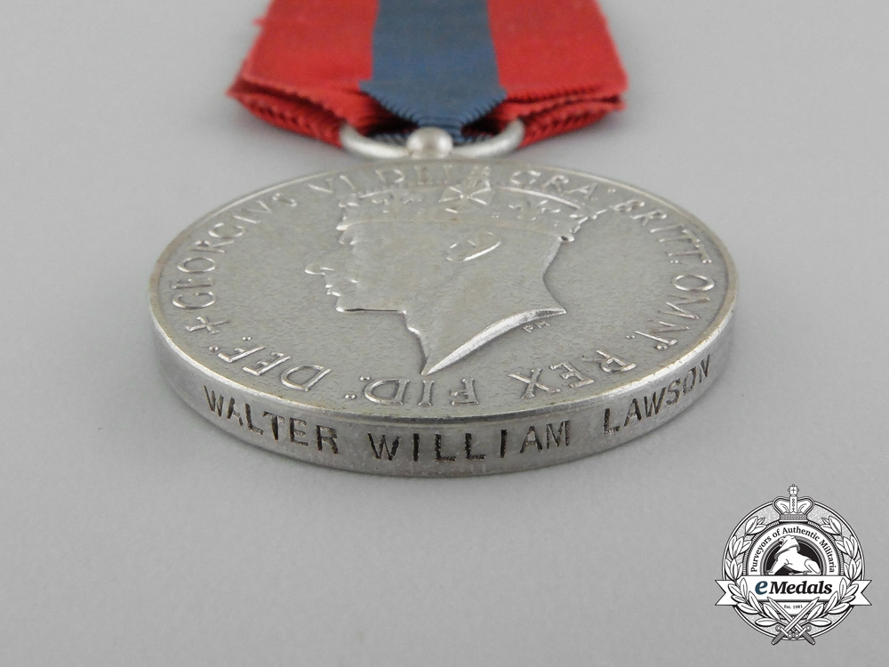 An Imperial Service Medal to Walter William Lawson