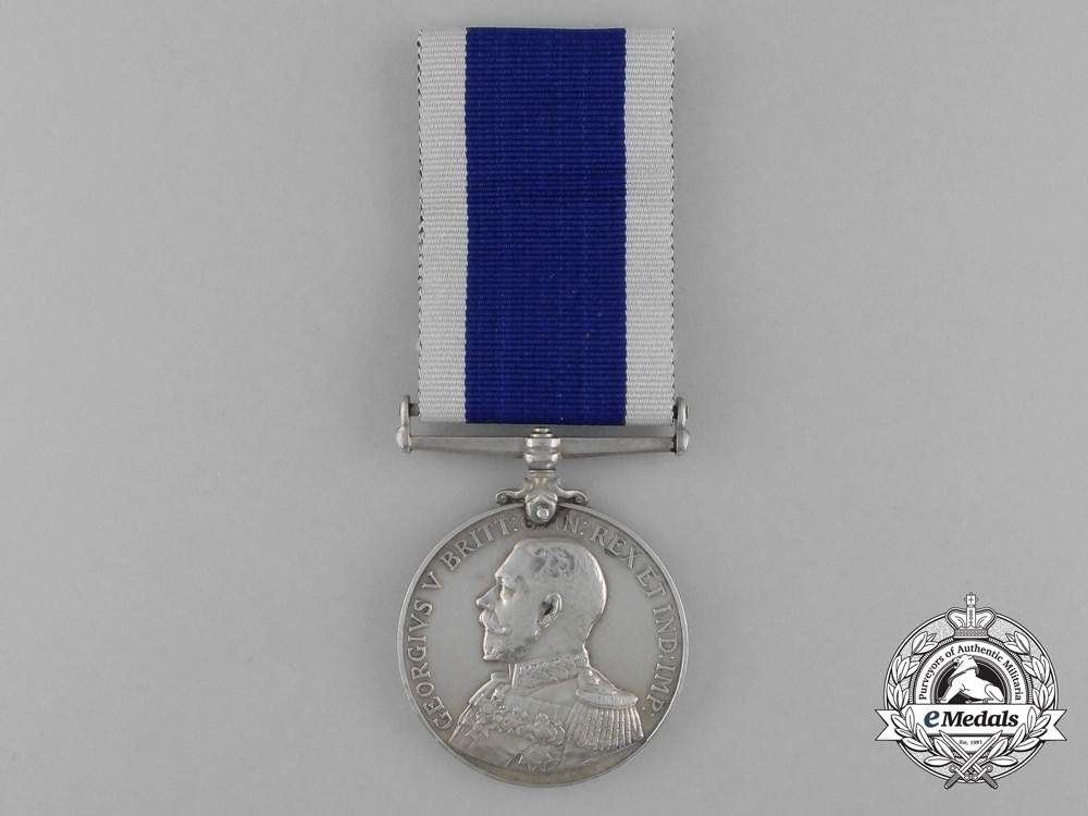 A Royal Naval Long Service And Good Conduct Medal Rmli