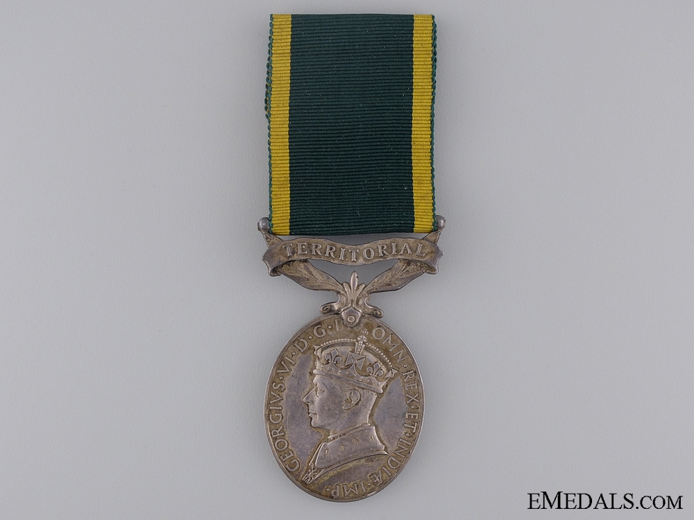 Efficiency Medal to the  Royal Army Medical Corps