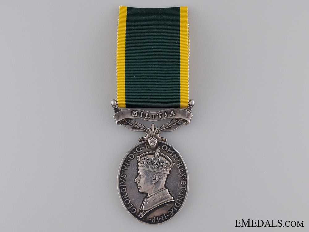 Efficiency Medal to the Royal Artillery