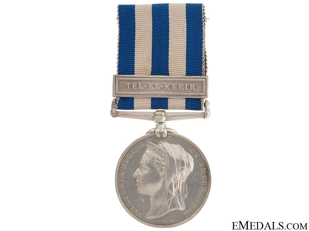 Egypt Medal 1882-1889 - Royal Artillery