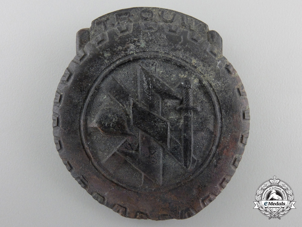 A Recovered Dutch NSKK Badge
