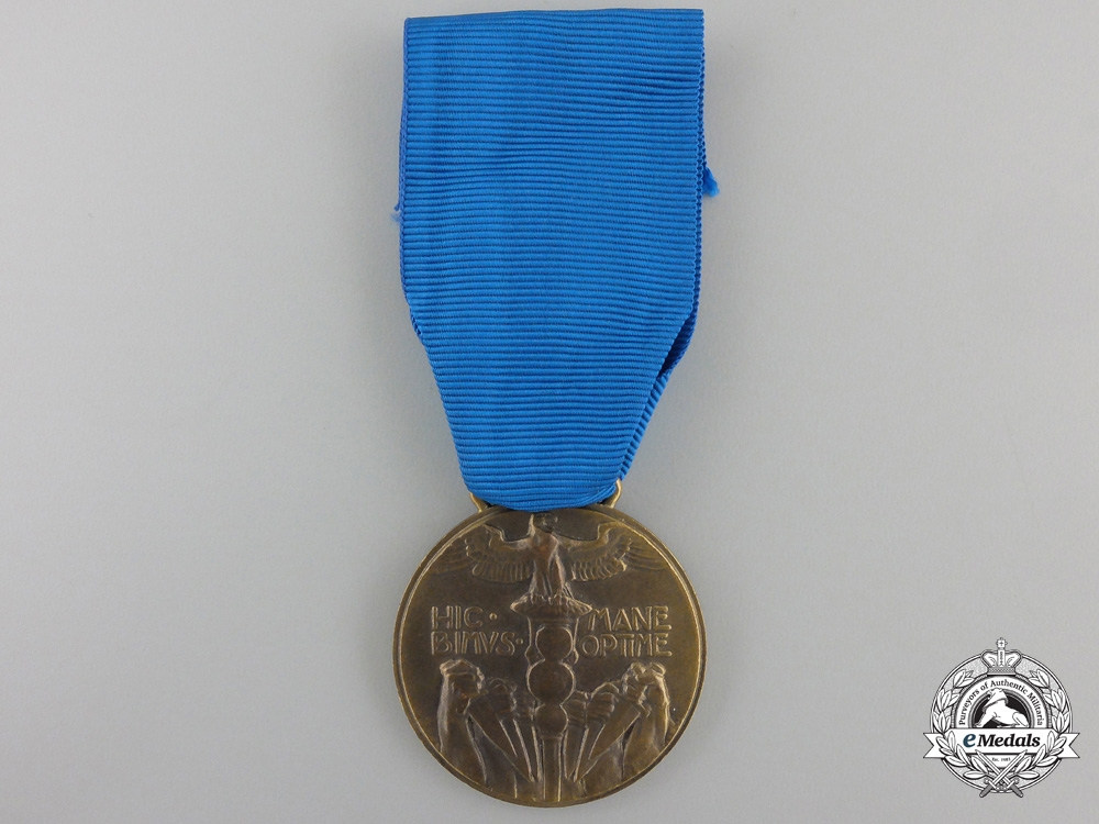 An 1919 Italian Expedition to Fiume Medal