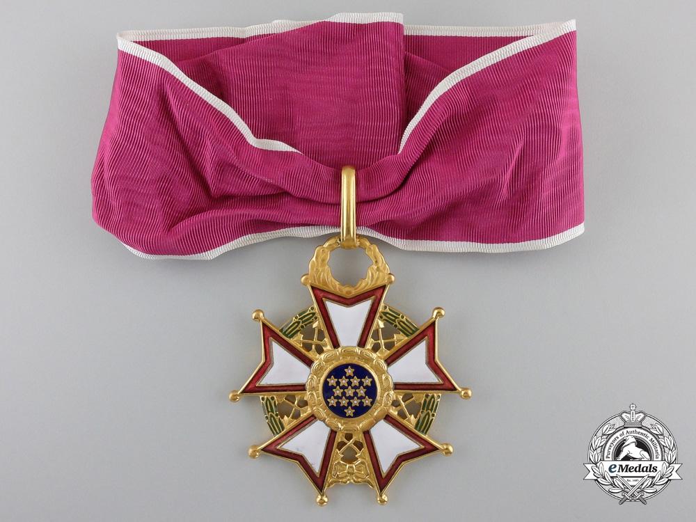 A Second War American Legion of Merit; Commander's Badge