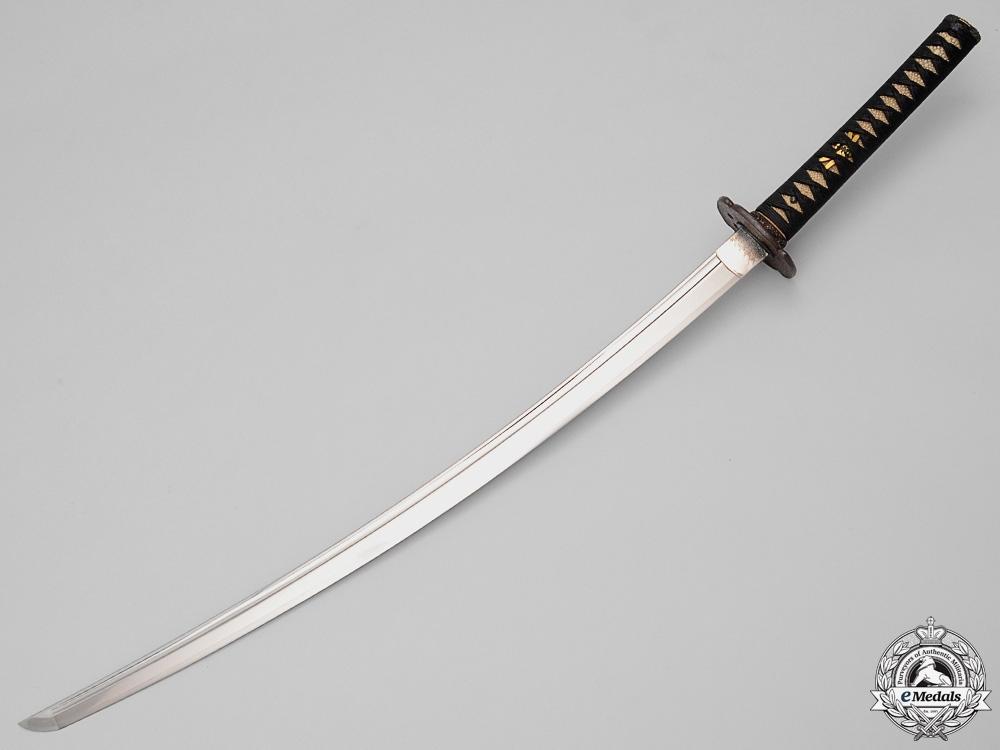 An Edo Period Sword byHizen no Kuni Ju Omi no Daijo Fuji-wara Tada Hiro