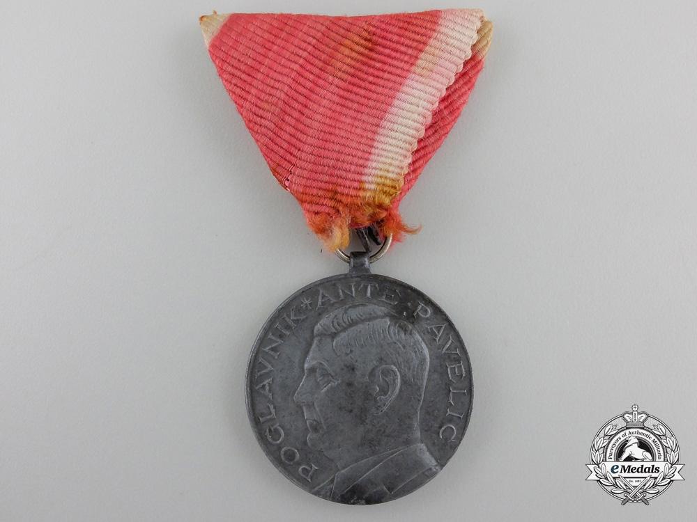 A Second War Croatian Bravery Award