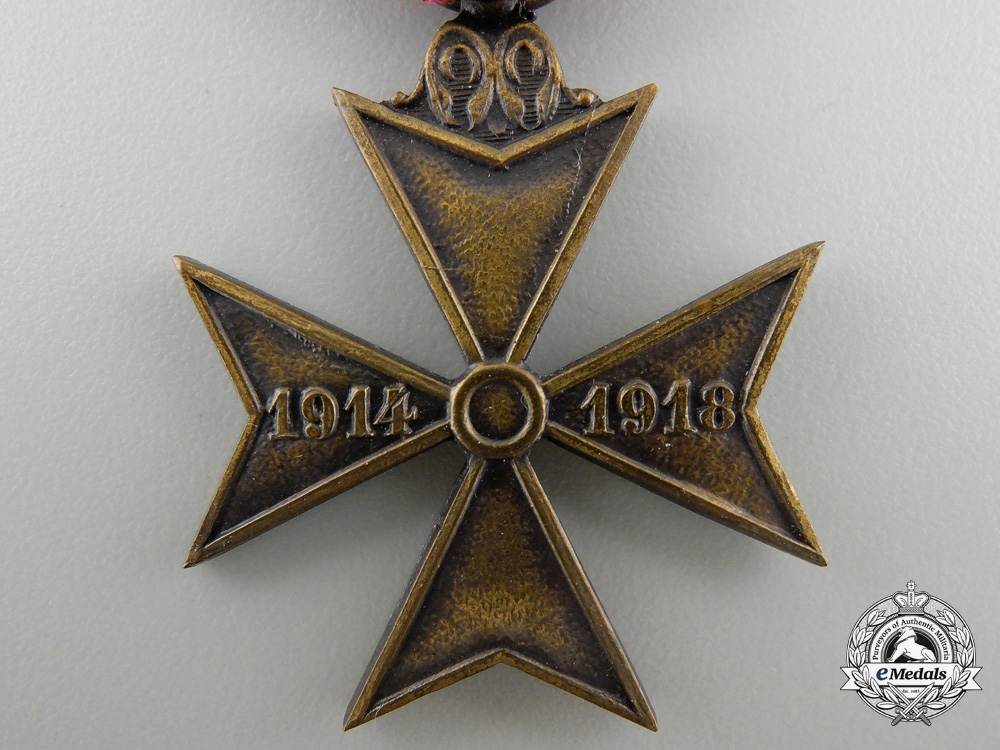 A First War Belgian Deportee Cross
