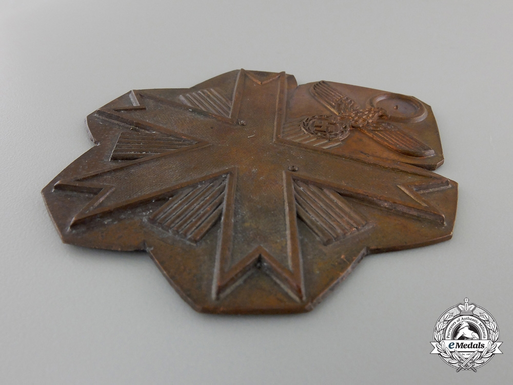 A RecoveredOlympic Games Decoration 1936; First Class