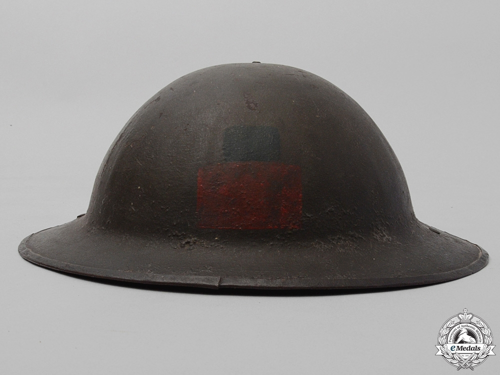 A Mark II 4th Canadian Infantry Battalion Helmet