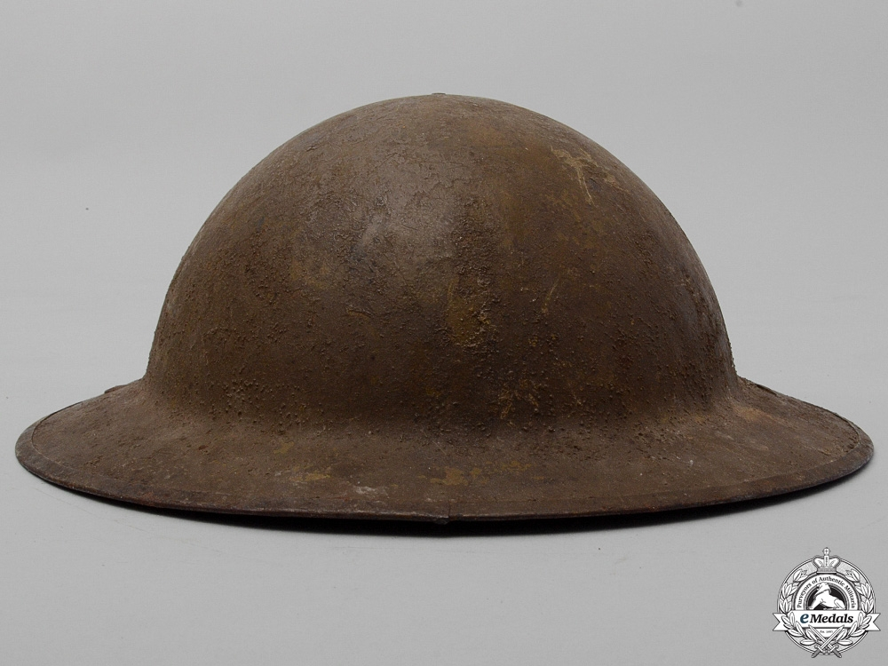 A Mark II 18th Canadian Infantry Battalion Helmet