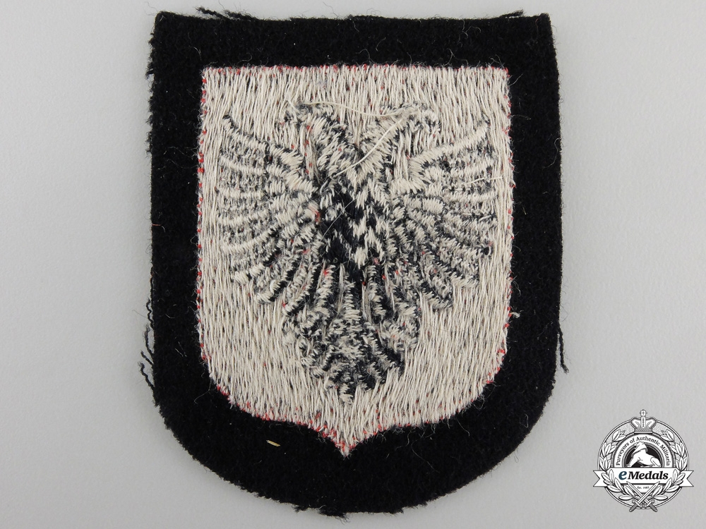 An Albanian SS Volunteer Sleeve Shield