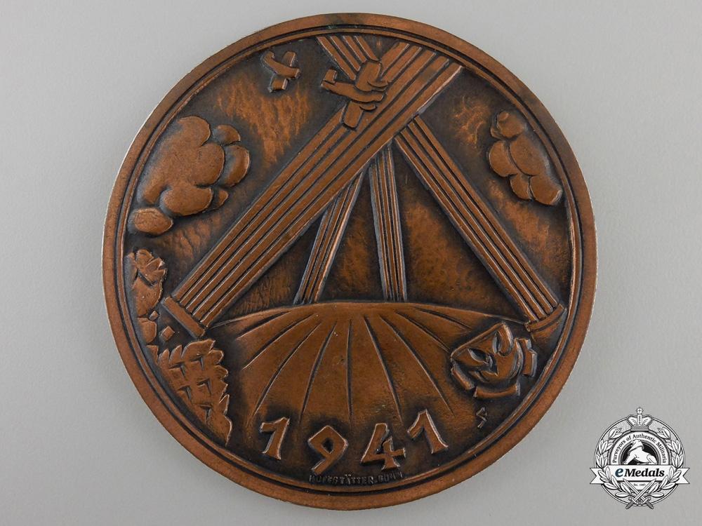 A 1941 Air Defense Plaque