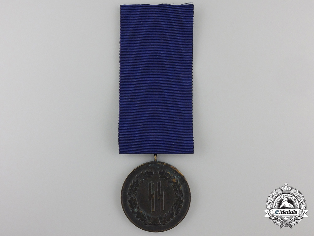 An SS Long Service Award for Four Years Service