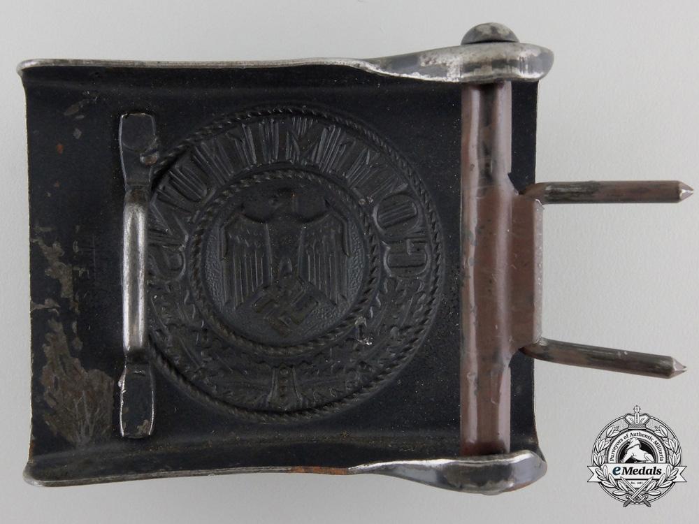 An Kriegsmarine EM Belt Buckle