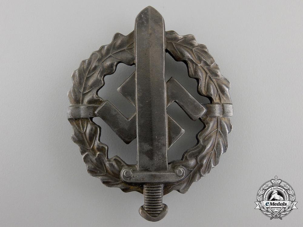 A Silver Grade SA Defense Badge; Type 1