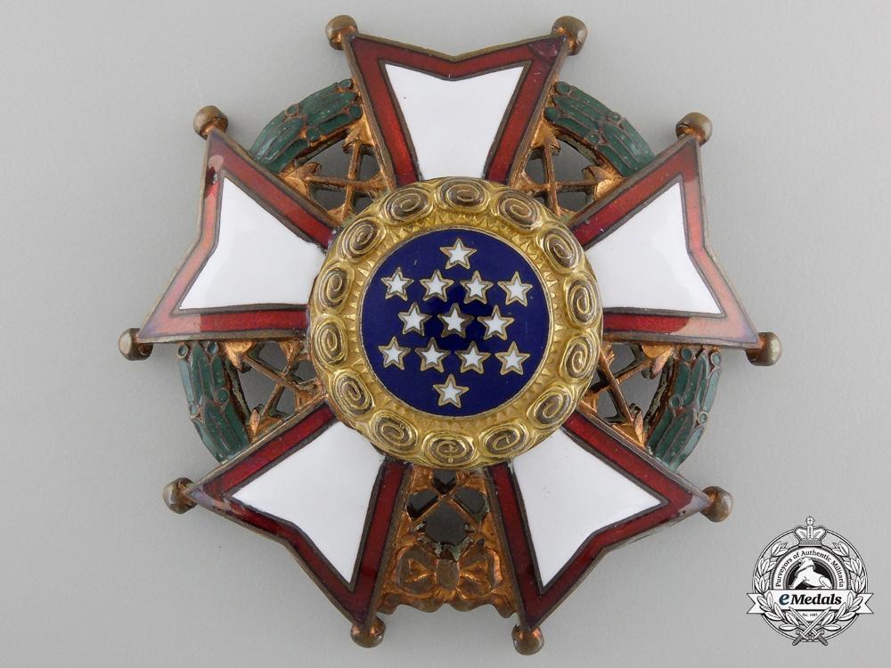 An American Legion of Honor; Breast Star