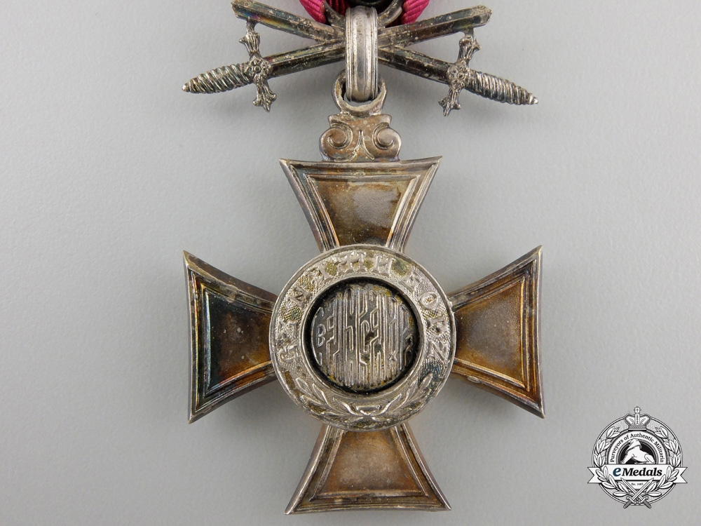 A First War Bulgarian Order of St. Alexander; 6th Class