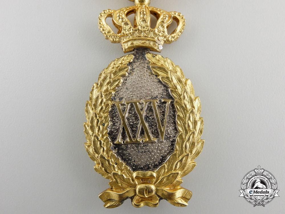 A Romanian Twenty Five Year Service Award