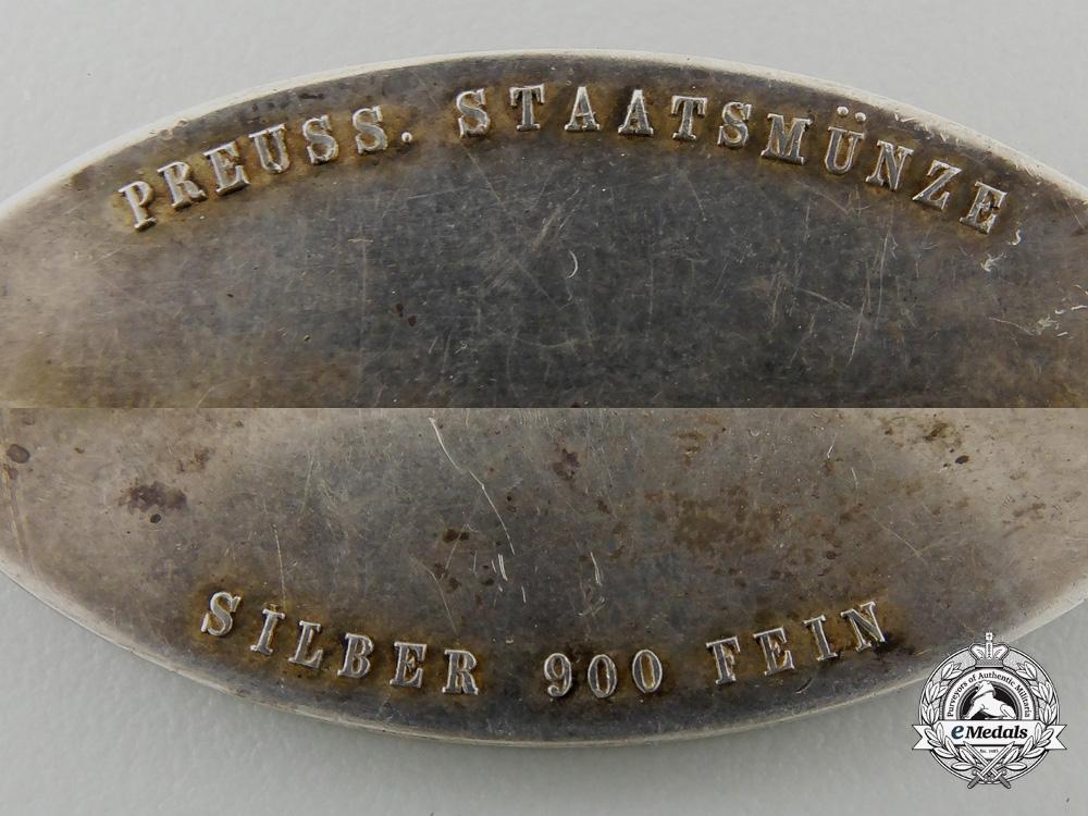 A1930's Prussian Fireman's Merit Award in Silver
