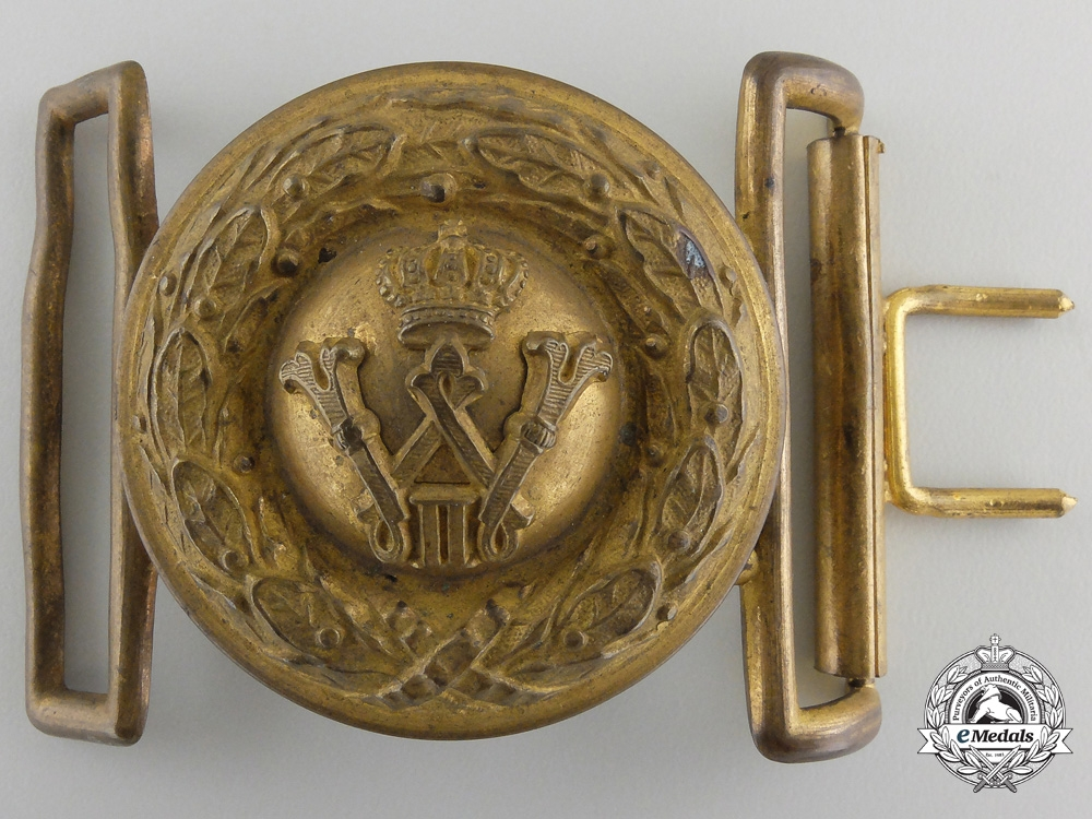A Prussian Army Parade Belt Buckle