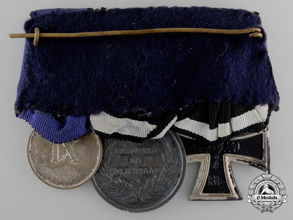A First War Prussian Long Service Medal Bar