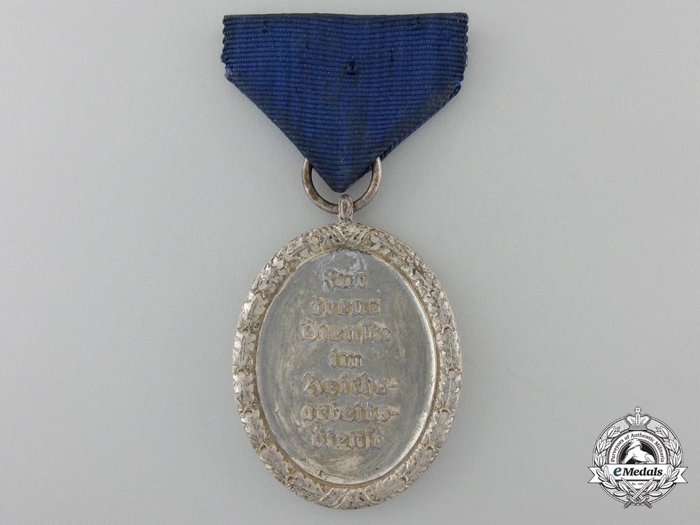 An R.A.D. Service Medal; Third Class
